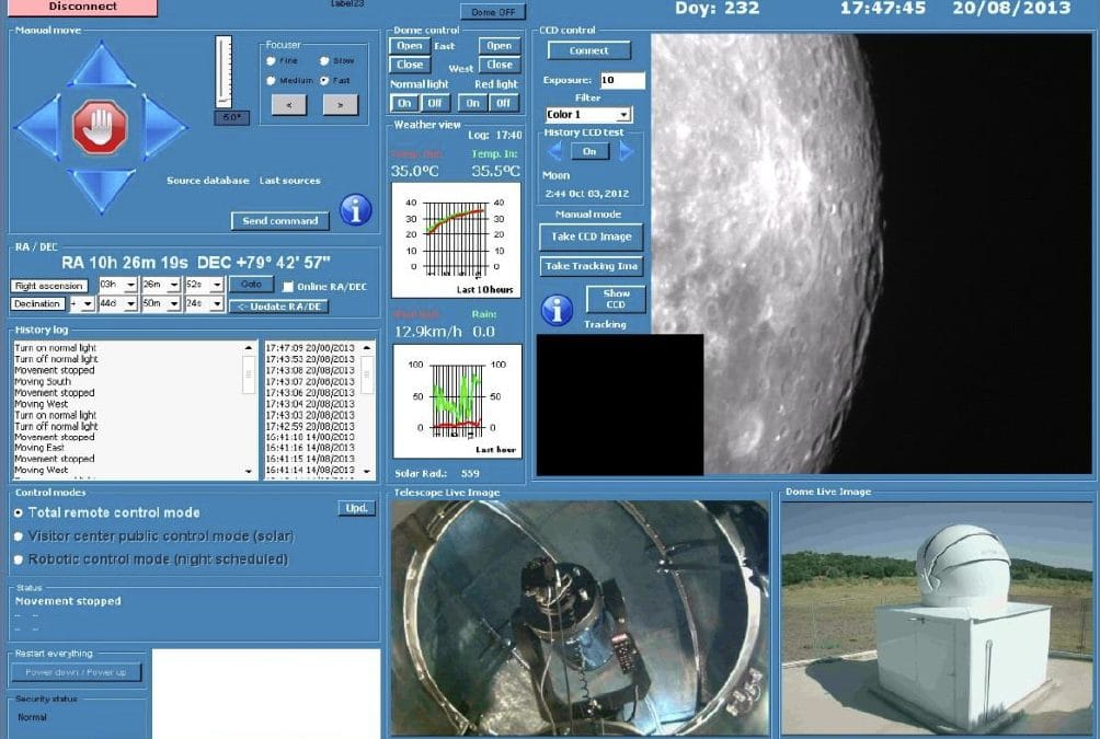 Robotic Telescope Installation and Software Design