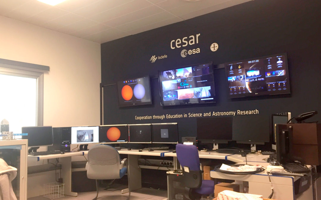Science Cases' Web-Tools for the ESA – ESAC educational project CESAR