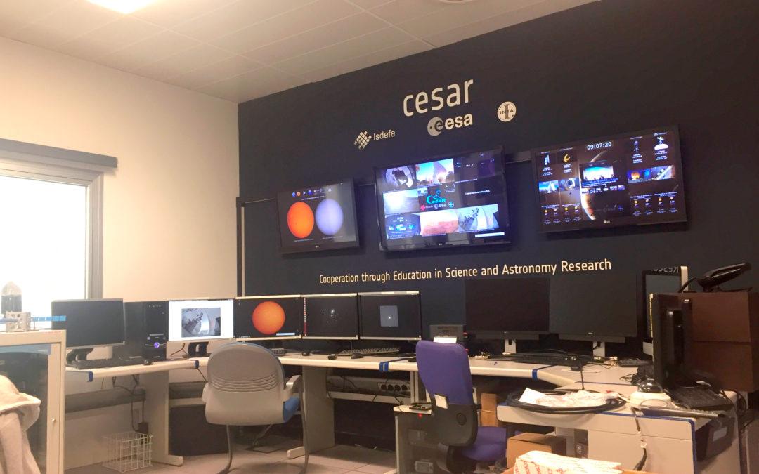 Herramientas Web para los Casos Científicos del proyecto educativo CESAR (ESA-ESAC)