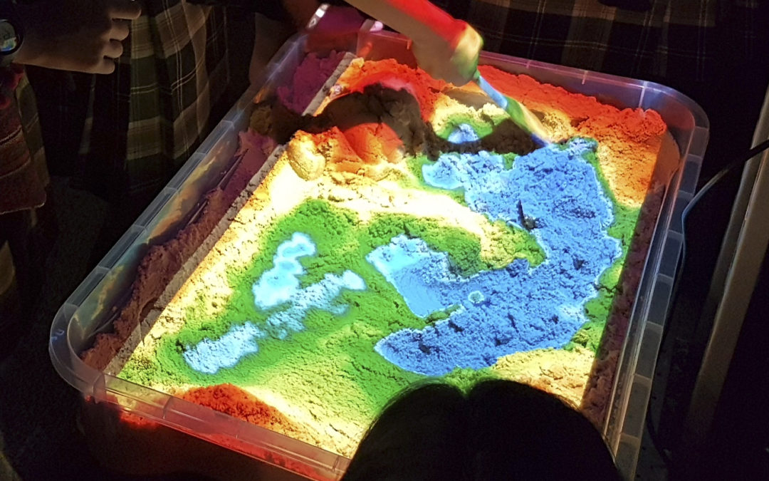 Topography in Augmented Reality