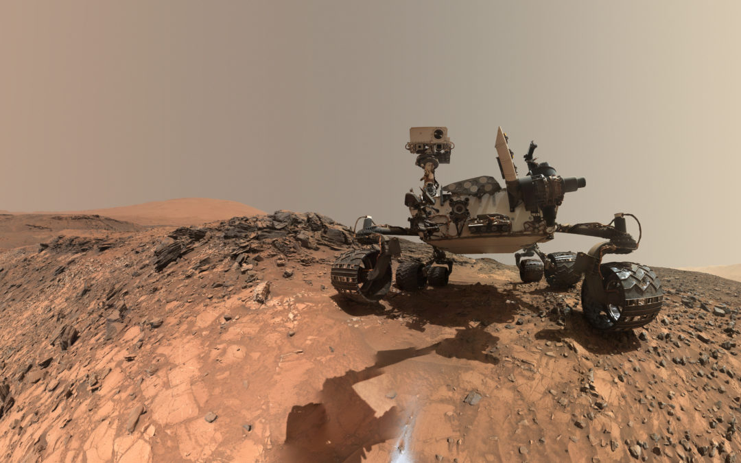 Mars Curiosity Rover's REMS Multimedia Creation