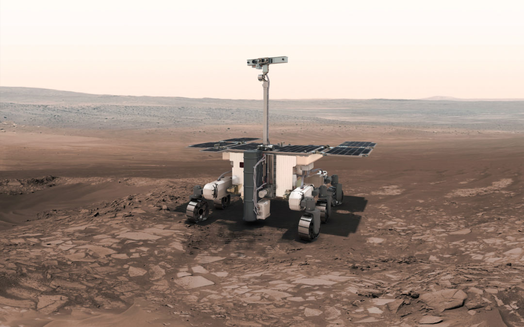 2020 ExoMars' Rover, the final design.