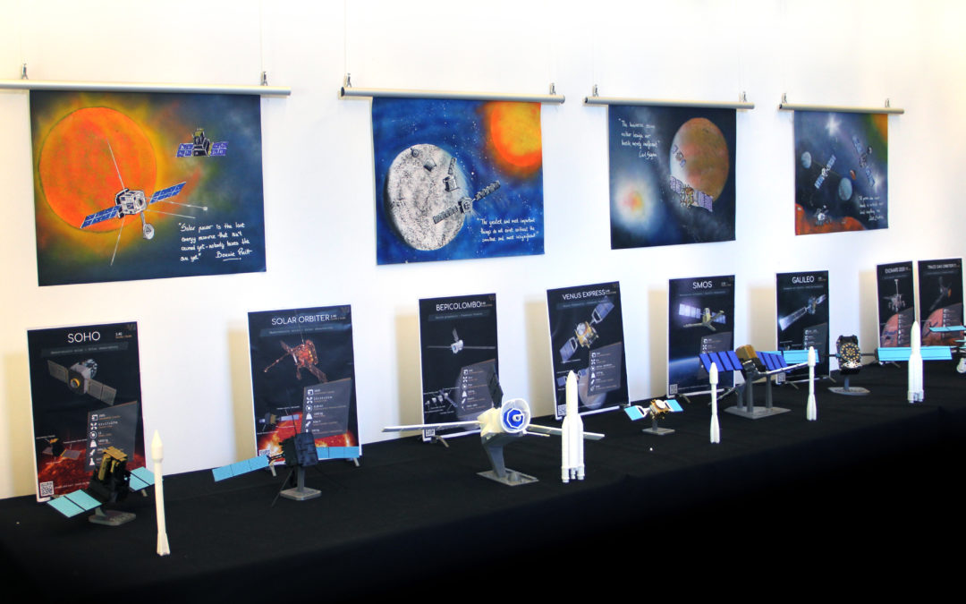 Augmented Reality Planetary Art Exhibition