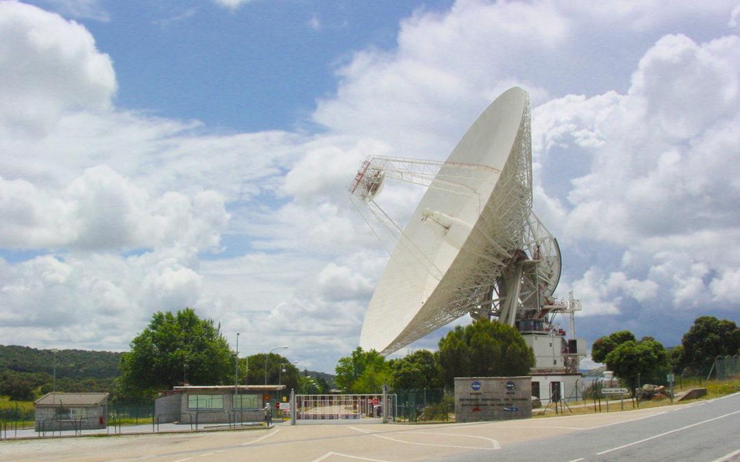 DSS-61, la antena de PARTNeR en el MDSCC de la NASA, ahora en 3D.