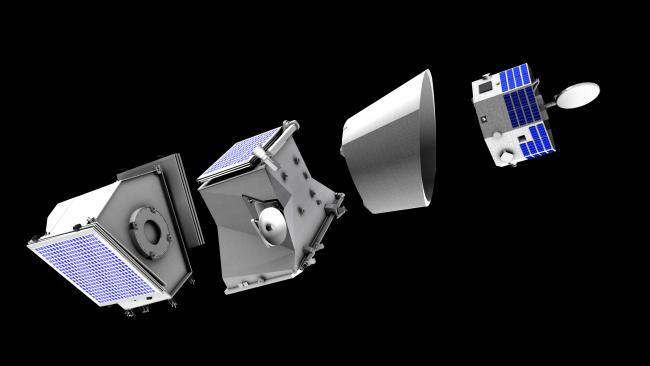 BepiColombo Detachable Scaled Model