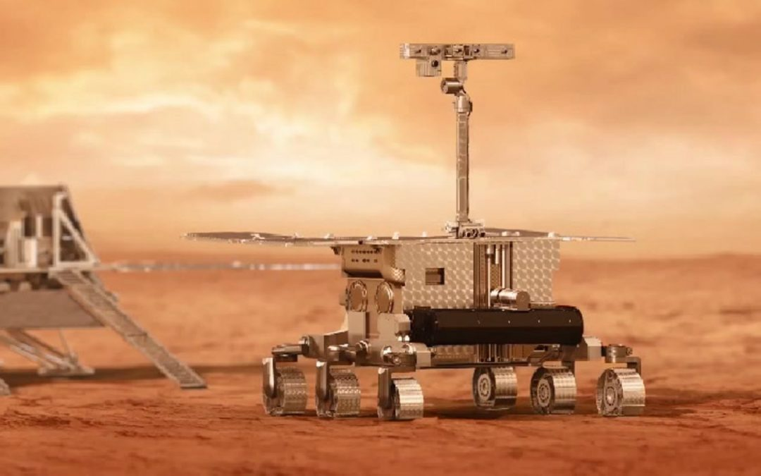 Nueva Versión del Robot 1:2 del Rosalind Franklin de ExoMars