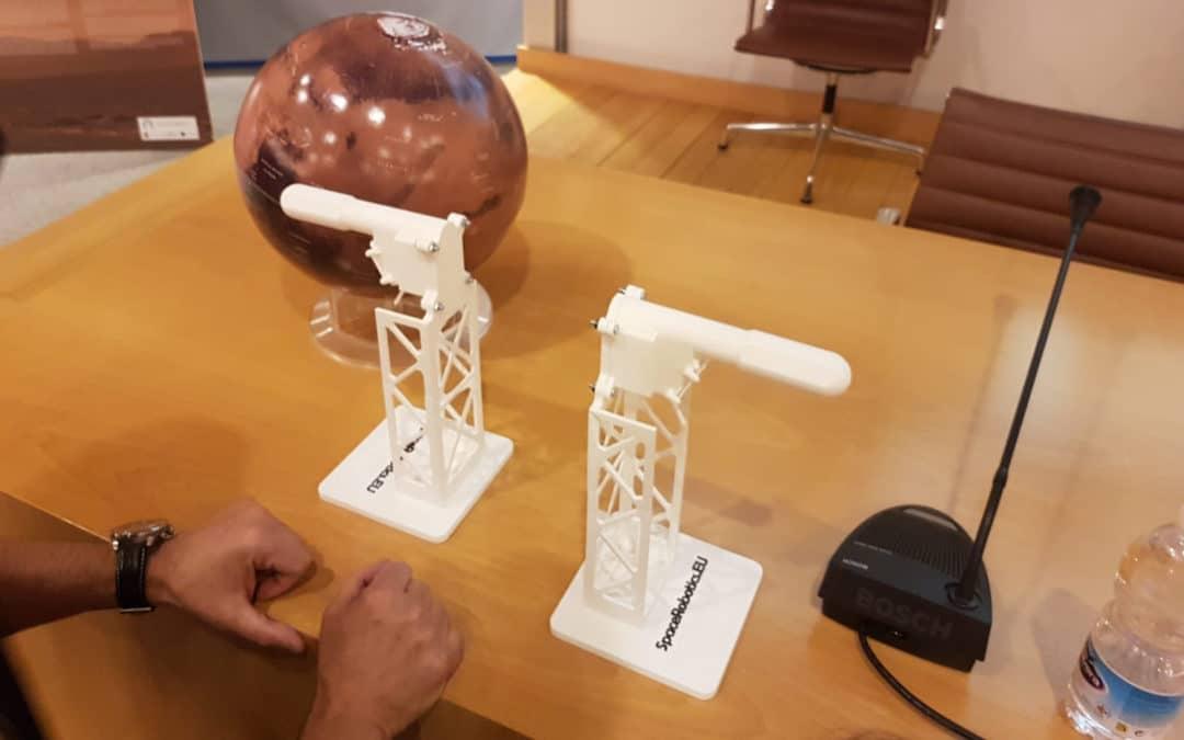 Tecnología Española en Marte – TWINS en 3D para la presentación de InSight