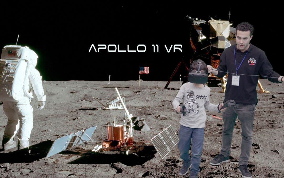 New Apollo 11 VR Experience – Simulating a MoonWalk
