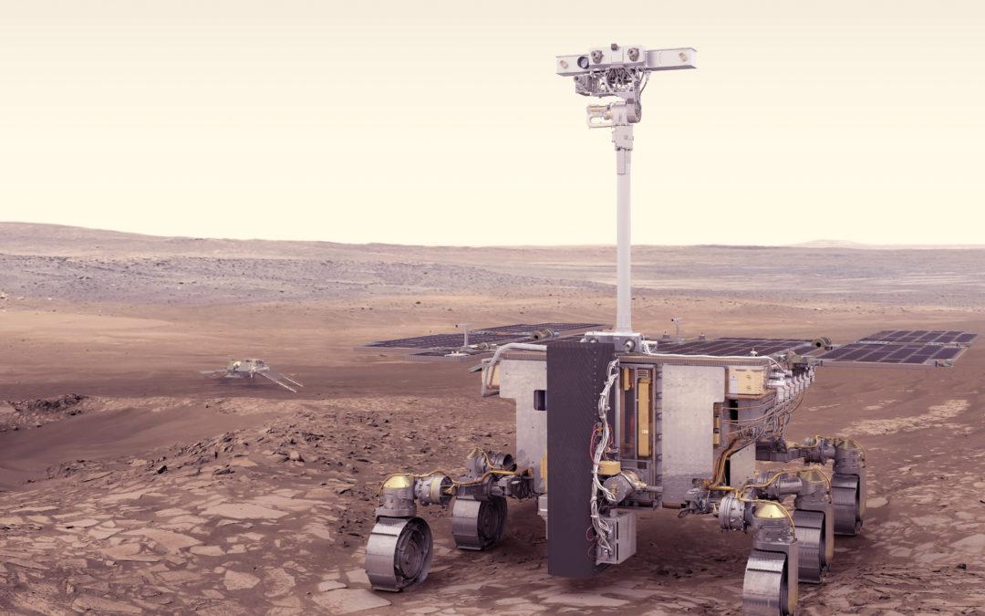 Robot 1:2 del Rosalind Franklin de ExoMars