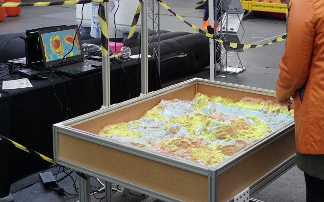 Augmented Reality Topography Sandbox 2.0 for education and science