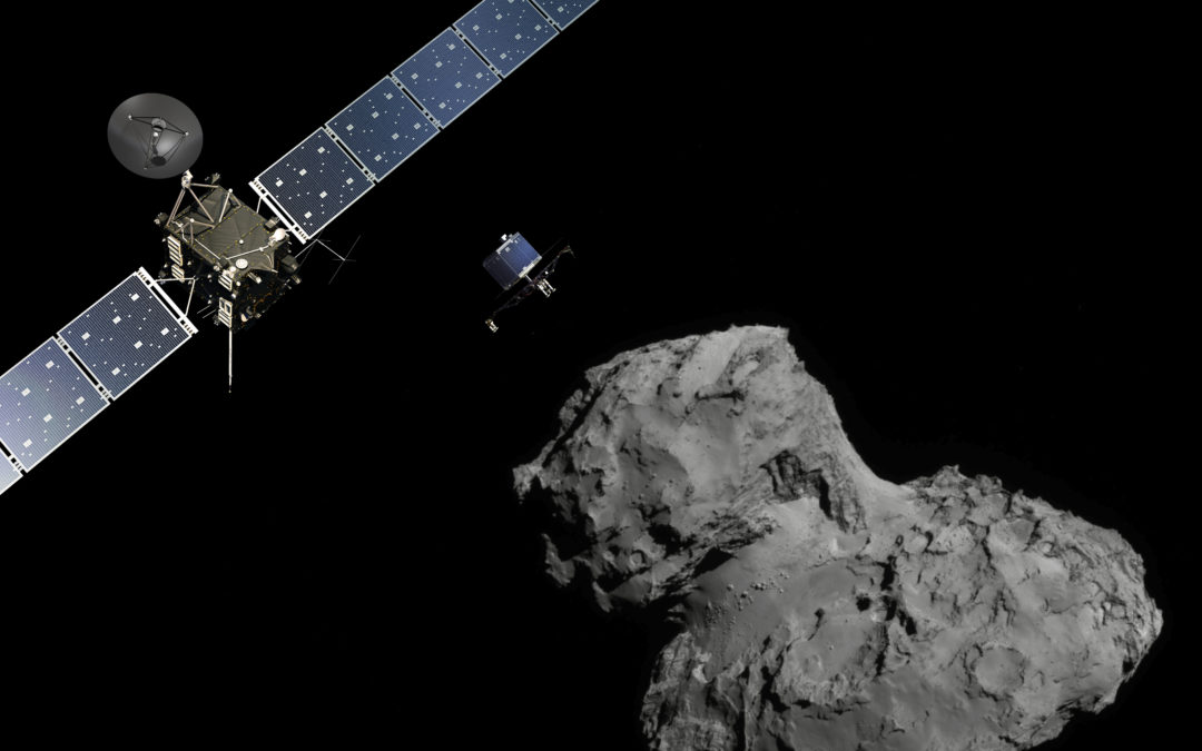 Rosetta's Final Images