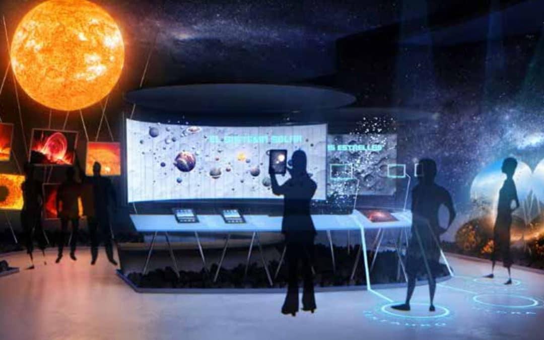 Nuevo centro de visitantes en el ORM (el Observatorio del Roque de los Muchachos) del IAC