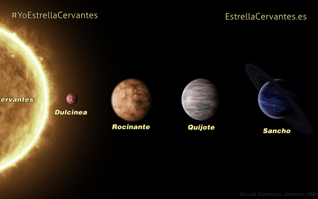 Multimedia Creation for the Cervantes Solar System