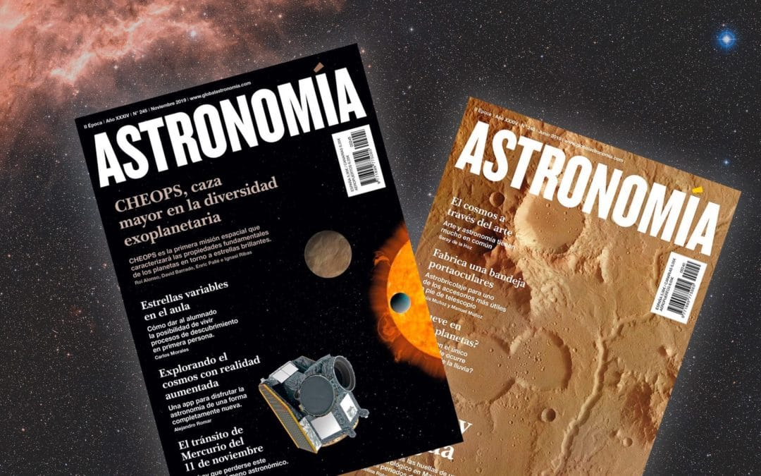 "Our VR and AR projects make it to ""Astronomía"" national magazine"