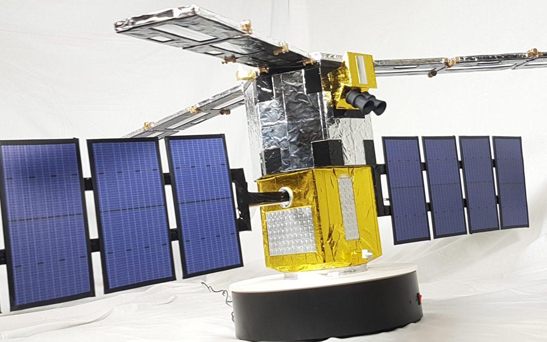 SMOS satellite 1:4 scaled model