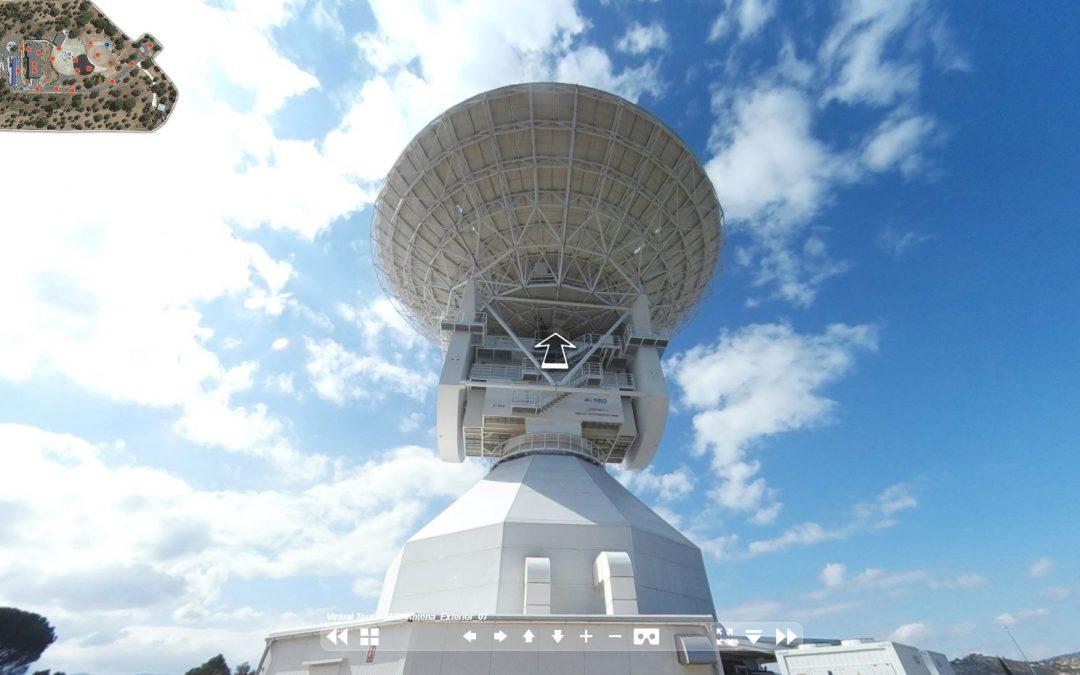 Tour Virtual de la estación de la ESA en Cebreros